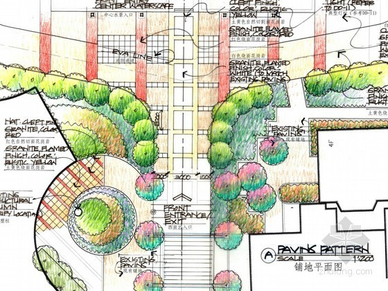 [重庆]医院大楼周边环境扩初设计方案