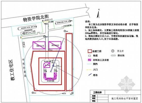 [北京]文体综合楼雨季施工方案