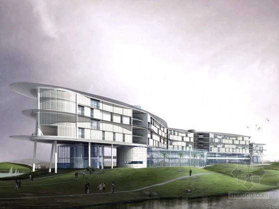 [广州]某生物岛主题酒店建筑方案文本(含设计说明、分析)