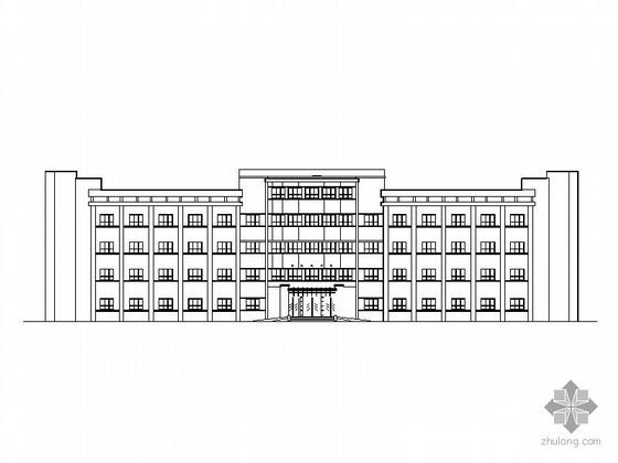 某医院总体规划及建筑设计方案CAD图