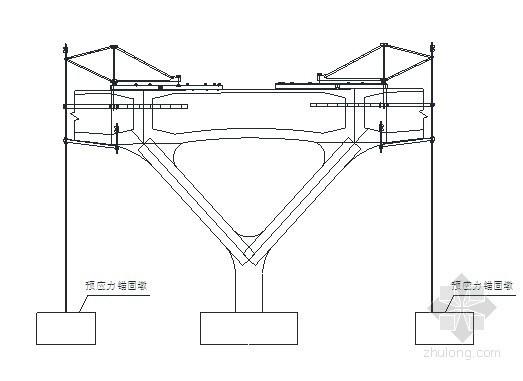 [湖南]大桥主墩菱形挂篮预压专项施工方案