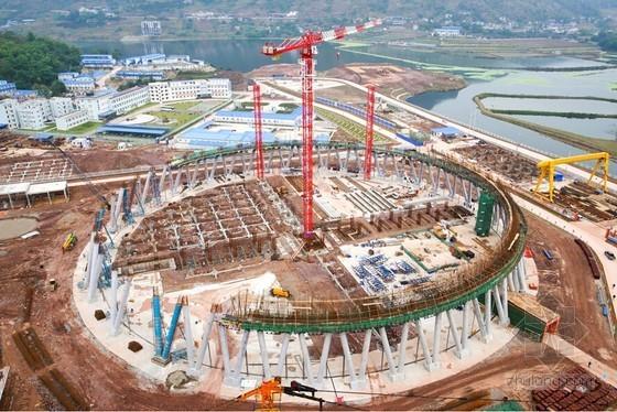 建筑工程施工人字柱现浇钢模体系应用总结