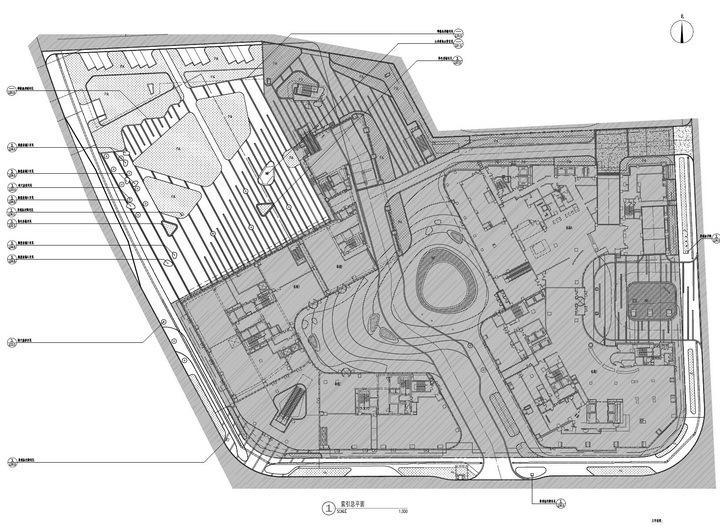 [上海]商务核心区景观设计硬景施工图纸(上市公司出品)