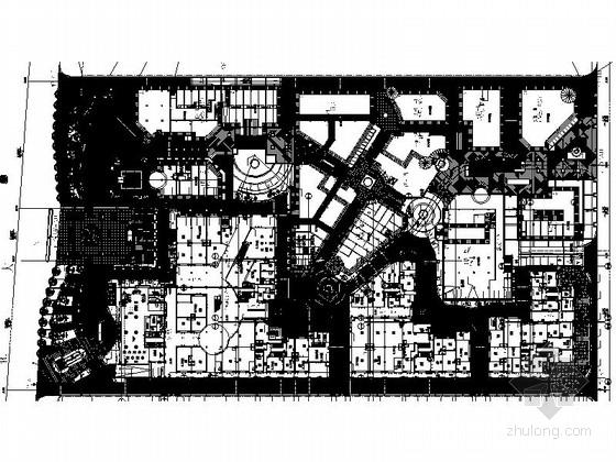 [广州]时尚商住配套住宅景观设计施工图