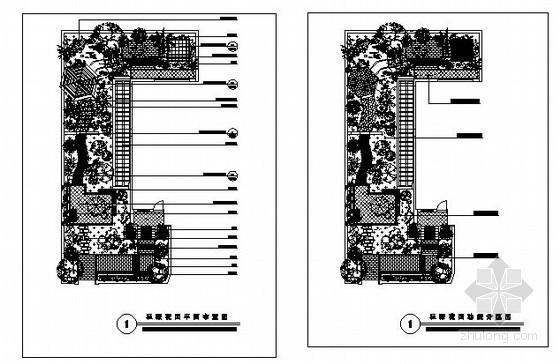 某私家花园环境设计施工图
