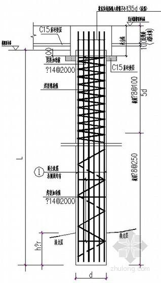[山东]桩基图纸(泥浆护壁成孔灌注桩)