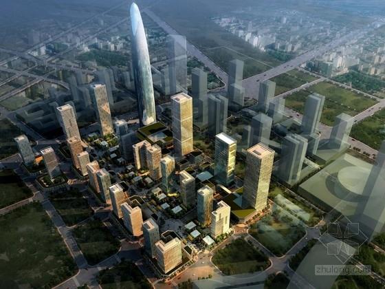[四川]超高层城市综合体建筑设计方案文本(知名房地产公司)