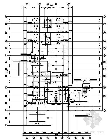 [湖南]某六层商住楼电气图纸