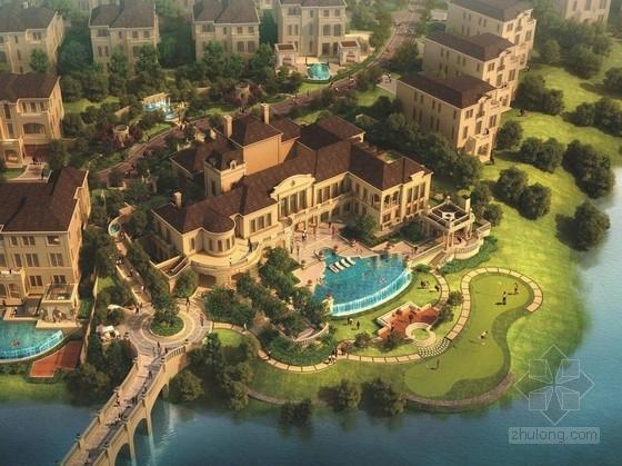 [成都]奢华别墅区景观设计方案