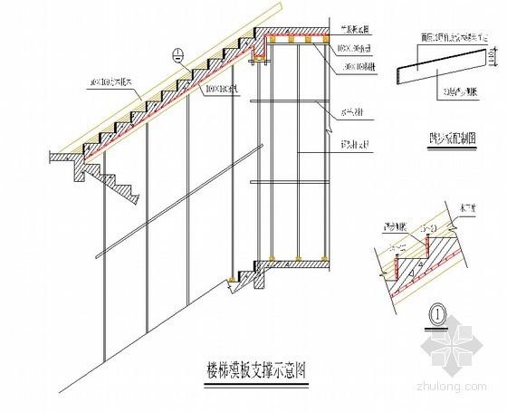 [甘肃]框剪结构教学楼综合工程模板施工方案