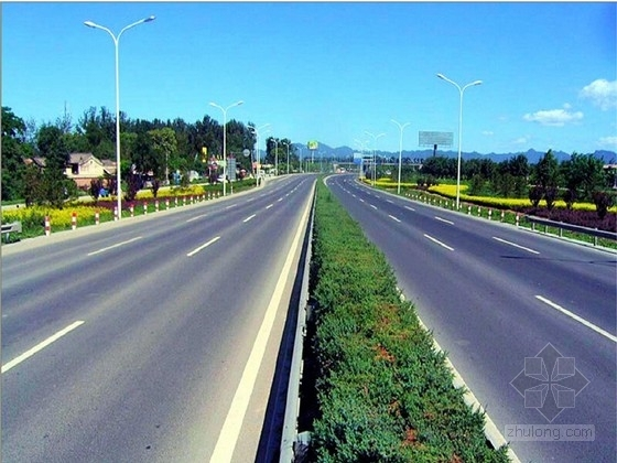 [新规范]双向4车道市政道路工程施工图63张CAD(含雨污水 电照)