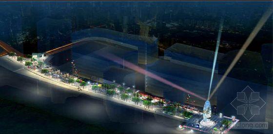重庆步行街延伸段方案设计
