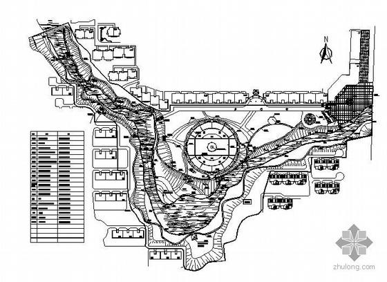 河南信阳某滨河公园施工图