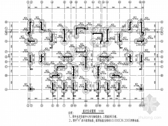 [湖北]地上26层剪力墙结构住宅楼结构施工图