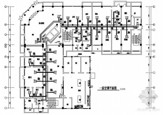 某七层办公楼暖通图纸