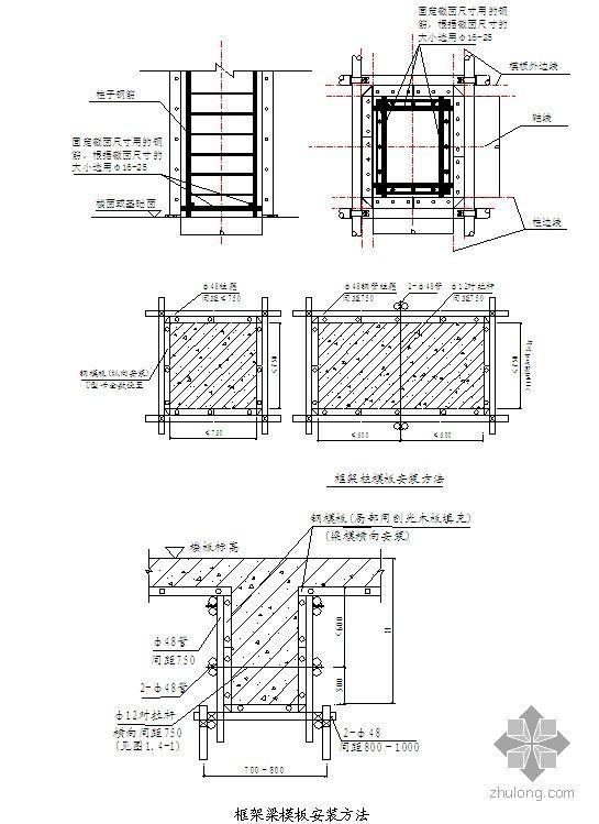 钢筋混凝土框架结构施工工艺