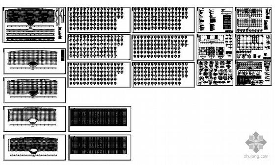 四川某框架结构汽车城图纸