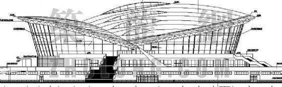 某体育馆建筑设计方案