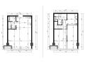 [北京]万科天地LOFT样板间深化设计CAD全套施工图+方案文本+效果图