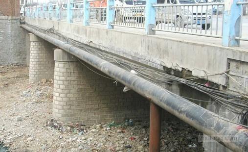 桥梁施工燃气管道保护方案资料下载-[山东]桥梁维修加固工程燃气管线保护施工方案
