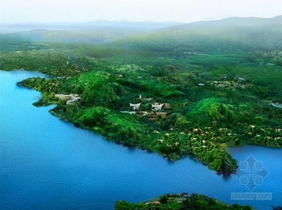 [庐山]中国田园诗文化和宗教文化旅游度假区景观设计方案