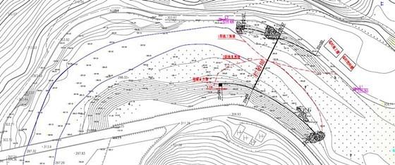 [陕西]重力式挡土墙拦砂坝工程施工图