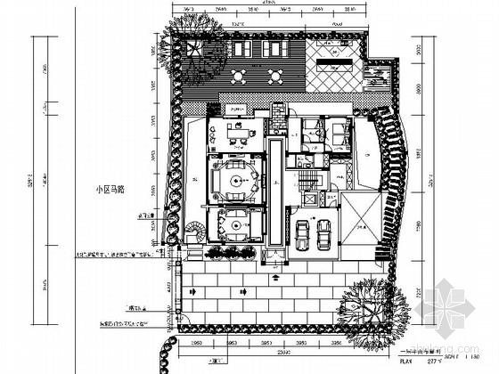 [原创]1000平霸气奢华欧式别墅豪宅施工图(含高清效果图)