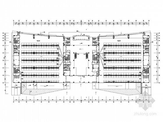 [山东]大型知名会展中心全套电气施工图纸93张(含机房)