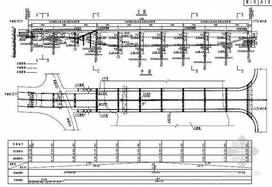 [福建]市政道路30mT梁桥及20m空心板桥设计图纸附计算书(知名大院)