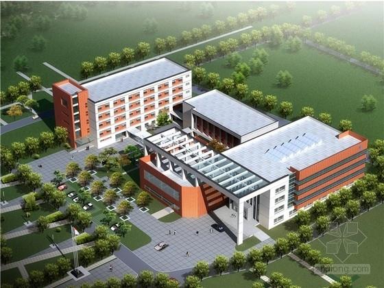 [江苏]现代风格电厂前区办公楼规划设计方案文本