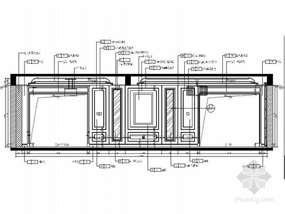 [原创]上市公司设计作品高档会所室内设计CAD施工图(含效果图)-[原创]上市公司设计作品高档会所室内设计立面图