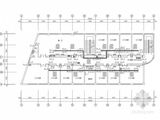 [云南]综合楼水暖设计图纸(商业 娱乐 办公 酒店)