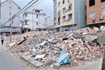 南京拆迁年产垃圾千万吨 建筑垃圾再利用待引领