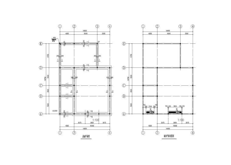 单层砌体结构锅炉房结构施工图(2015)
