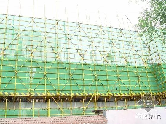 施工外脚手架及安全防护棚专项施工展示!_9