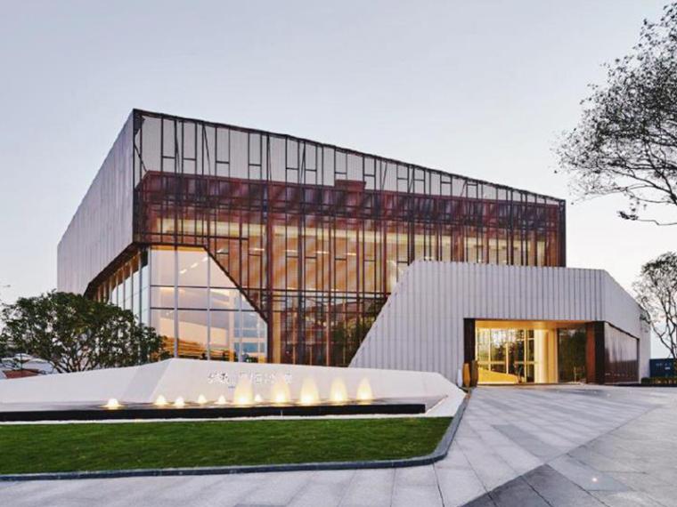 [广州]霍普高端现代别墅居住区建筑设计方案文本