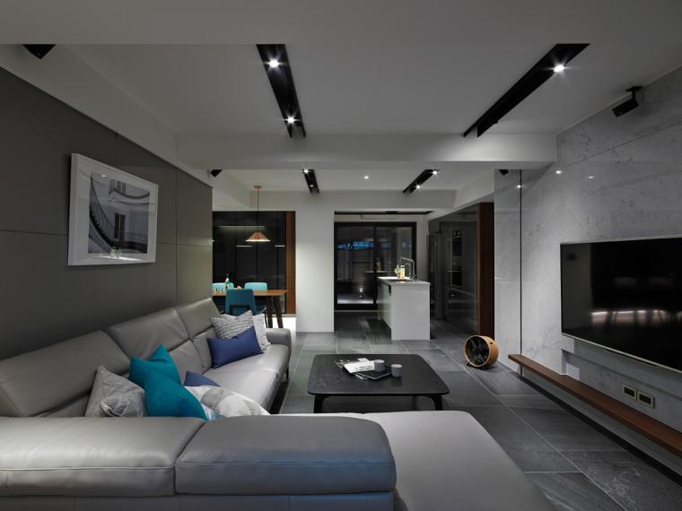 黑白灰现代简约住宅
