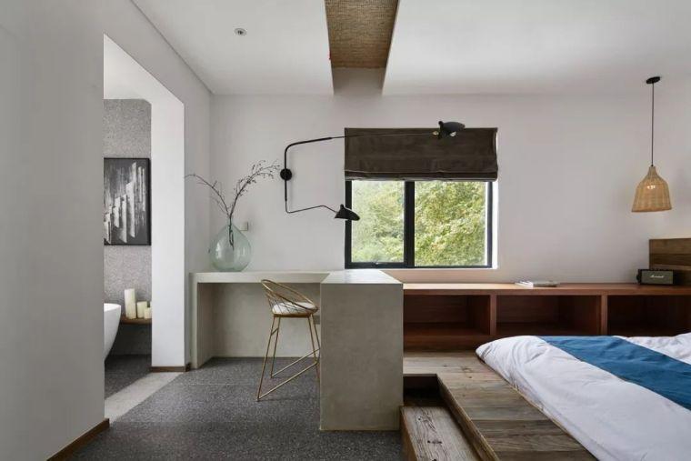 水泥厂改造成民宿,自然简约的设计就是这么美_24