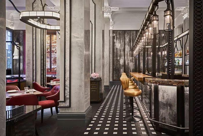 别找了,2018年最好看的餐饮空间设计都在这里了_26