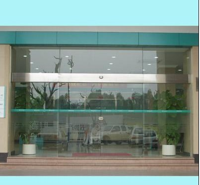 河东区安装玻璃门结构图