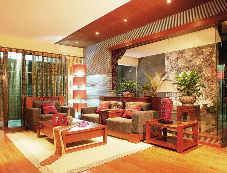 翰林国际城4室2厅1厨2卫150平米-翰林国际城-新中式风格装饰-郑第1张图片