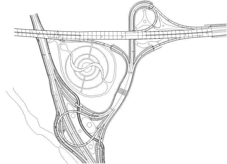 [南庄]杭州兜及图纸大型立交设计绿化景观秋山cad施工图房屋装修方案怎么看图片