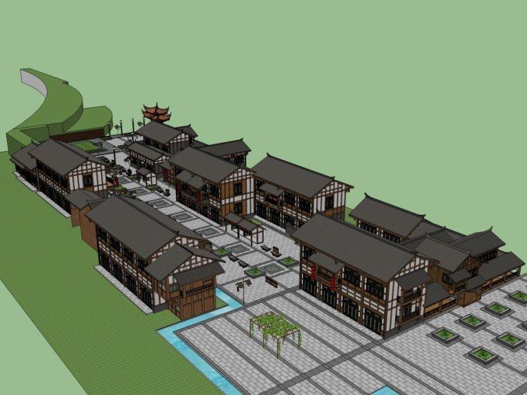 传统商业街+中式风格建筑商业街设计.skp-20150731_175917_287
