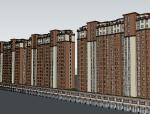 居住小区模型设计(SU模型)
