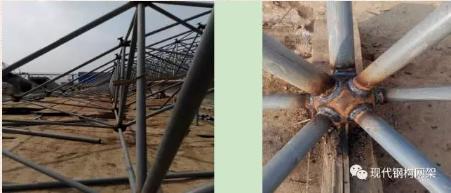 [行业资讯]大跨度煤棚焊接球网架液压顶升施工技术_14