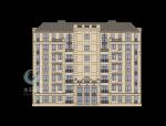 法式府邸建筑设计SU模型