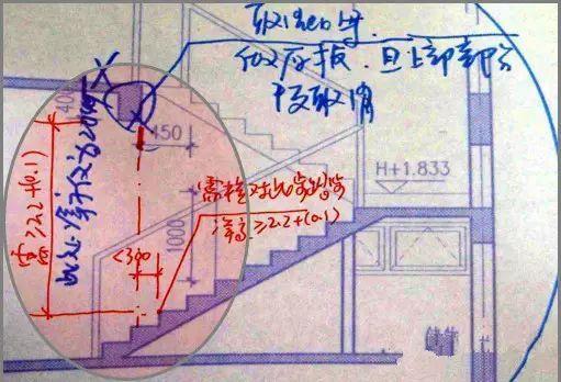 [施工实用]楼梯施工图常见问题
