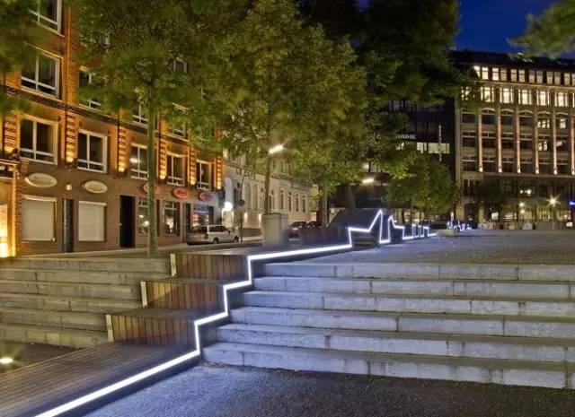 景观灯光设计。当灯光碰上景观,浪漫的夜晚就开始了!_20
