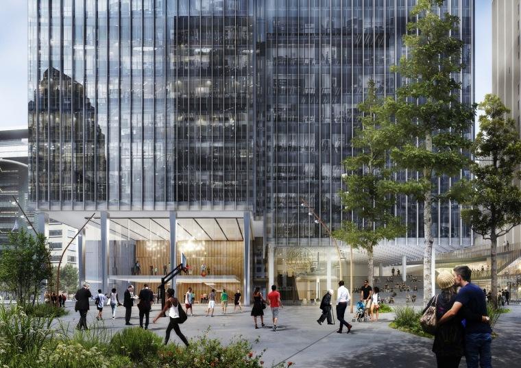 美国底特律地标性城市总体规划-7