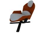 舒适办公椅3D模型下载